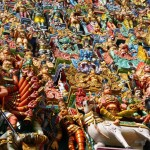 Храмът на Минакши – милиони разноцветни фигури и благословия от слона