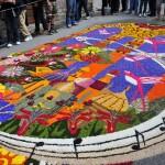 Уличният килим на Дженцано