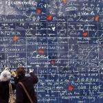 Стената на любовта в Монмартър