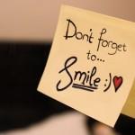 Усмихни се на човека до теб